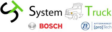 Logo System Truck, reparador oficial BOSCH